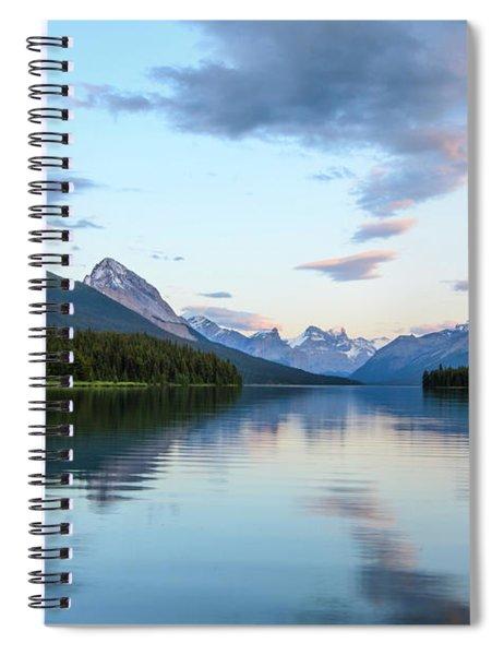 Maligne Lake Spiral Notebook