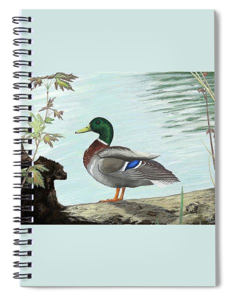 Mallard 2010 Spiral Notebook