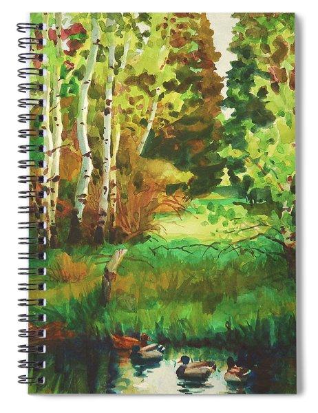 Mallard Grove Spiral Notebook