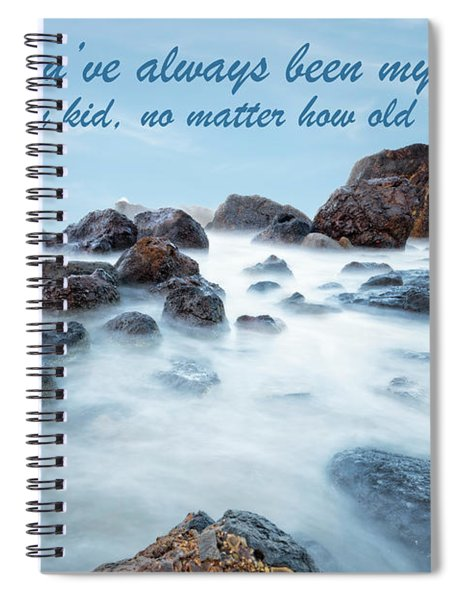 Mama, You've Always Been My Rock - Mother's Day Card Spiral Notebook