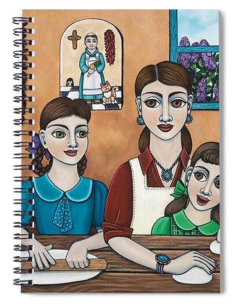 Mamacitas Tortillas Spiral Notebook