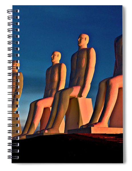 Man At Sea  Spiral Notebook