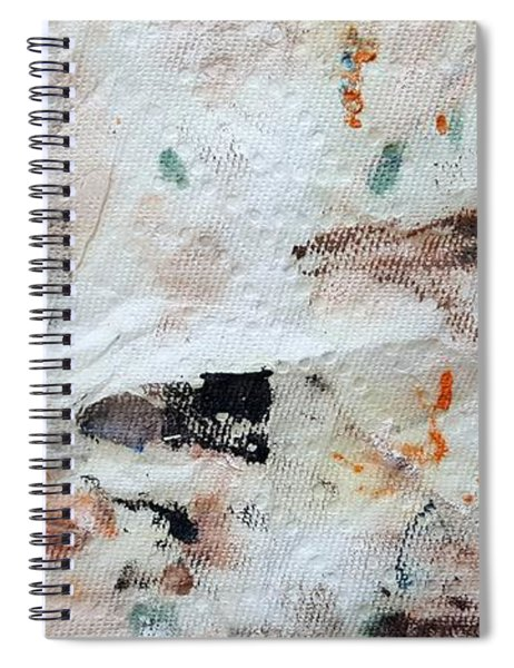 Man Chased By Mountain Lion Spiral Notebook