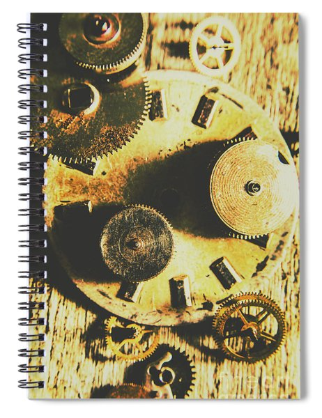 Man Made Time Spiral Notebook