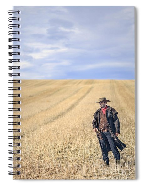 Man Of The West Spiral Notebook