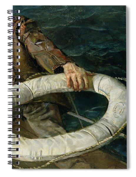 Man Overboard, 1906 Spiral Notebook