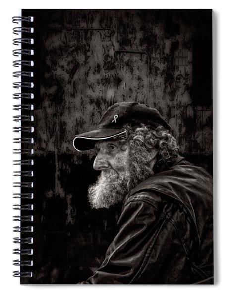 Man With A Beard Spiral Notebook