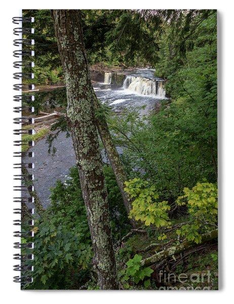 Manabezho Falls Spiral Notebook