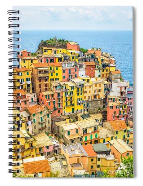Manarola Cinque Terra City Spiral Notebook