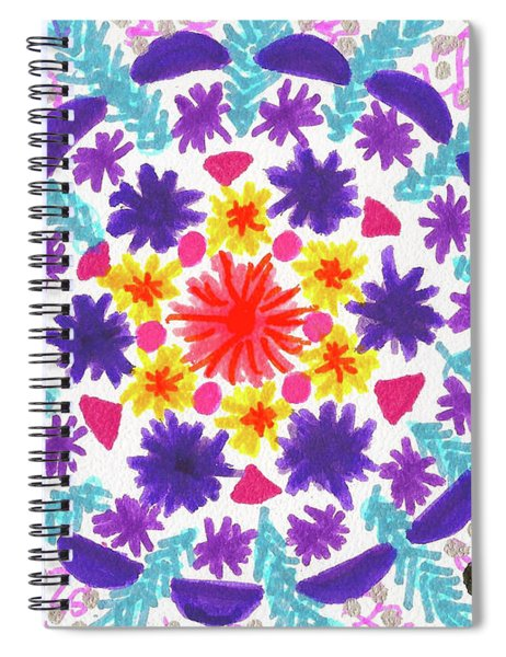 Mandala Magic Spiral Notebook