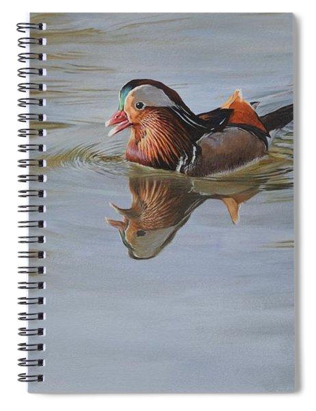 Mandarin Duck Spiral Notebook