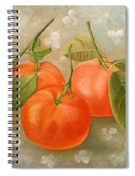 Mandarins Spiral Notebook
