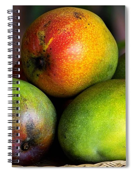 Mangos Spiral Notebook