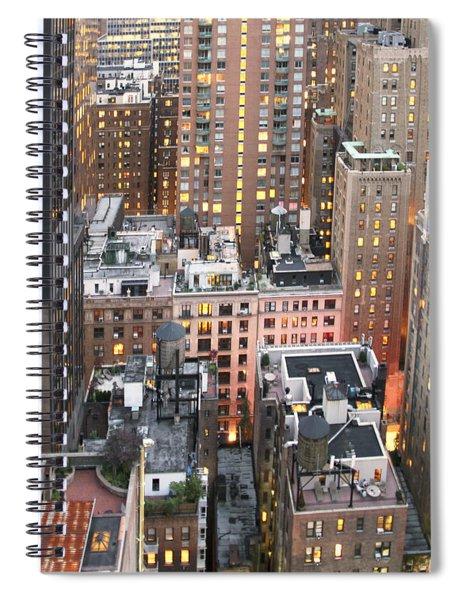 Manhattan At Dusk Spiral Notebook