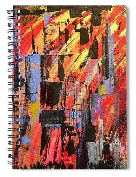 Manhattan Life Spiral Notebook
