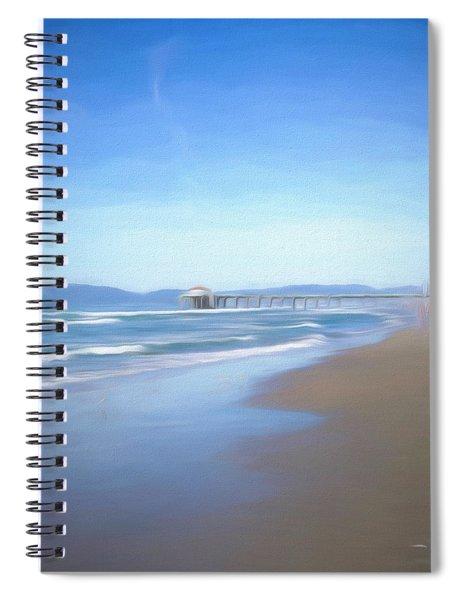 Manhattan Pier Art Spiral Notebook