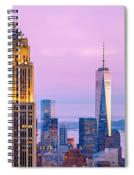 Manhattan Romance Spiral Notebook