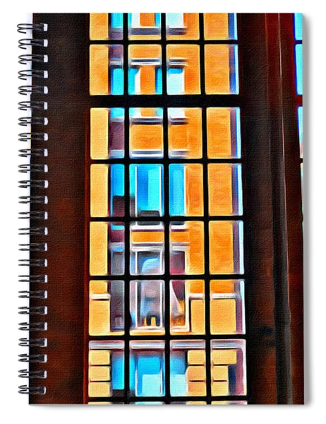 Manhattan Windows Spiral Notebook