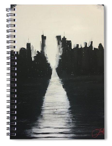 Manhattanhenge 1 Spiral Notebook