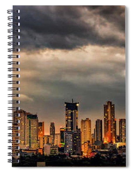 Manila Cityscape Spiral Notebook