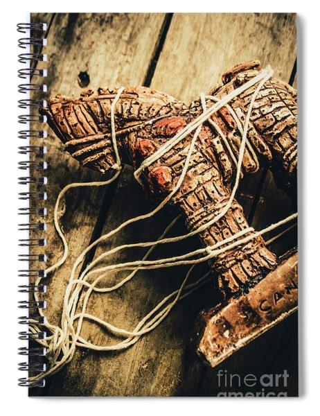 Manipulating The Trojans  Spiral Notebook