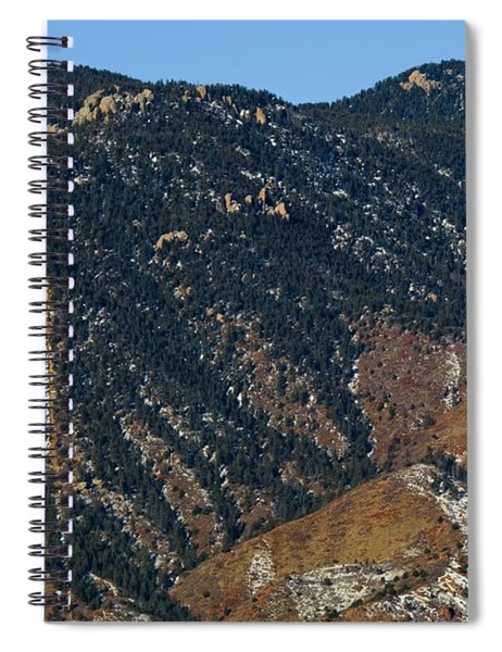 Manitou Incline Photographed From Red Rock Canyon Spiral Notebook
