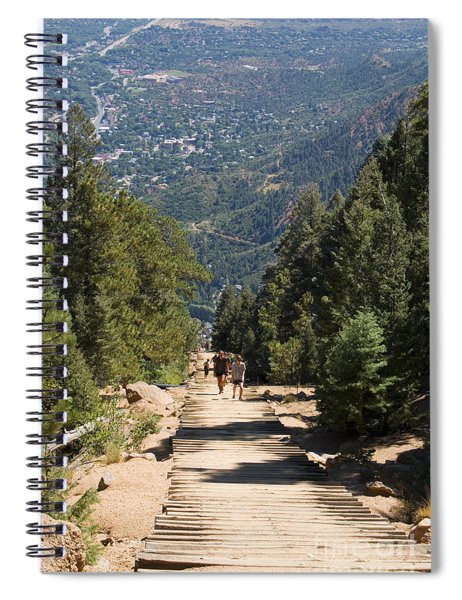 Manitou Springs Pikes Peak Incline Spiral Notebook