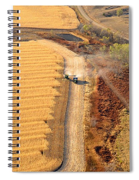 Many Acres To Harvest Spiral Notebook