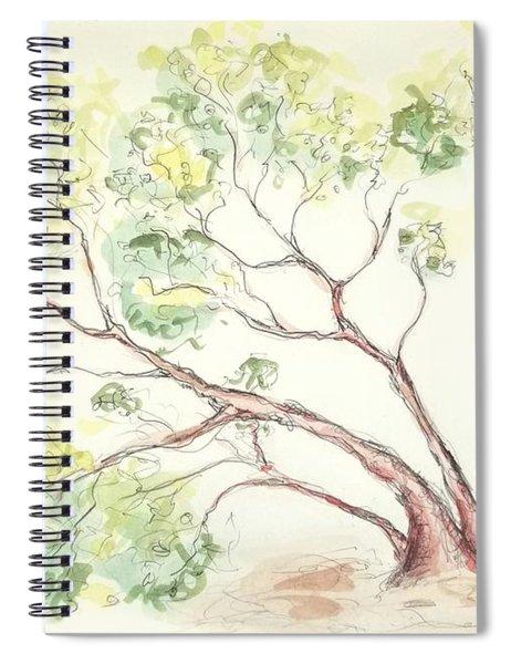 Manzanita Tree Spiral Notebook