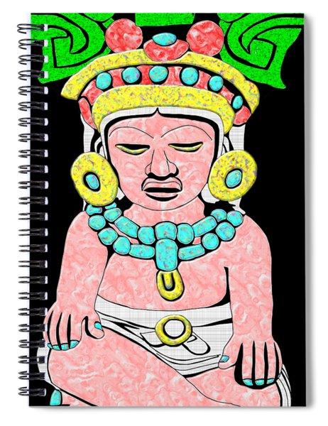 Marble Maya Spiral Notebook