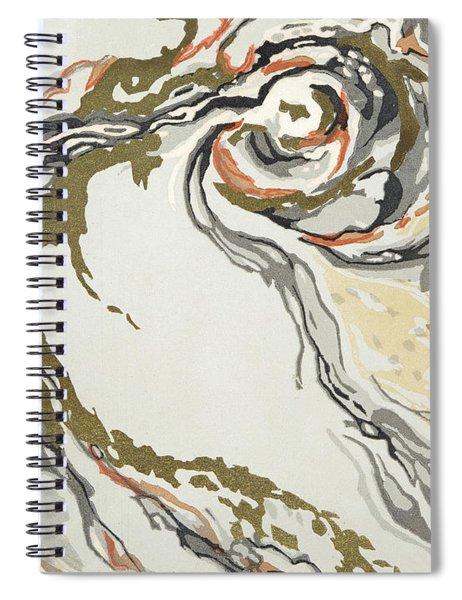 Marbled Pattern Spiral Notebook