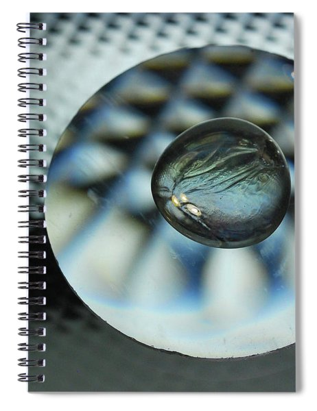 Marbles, Glass And Mirrors 4 Spiral Notebook