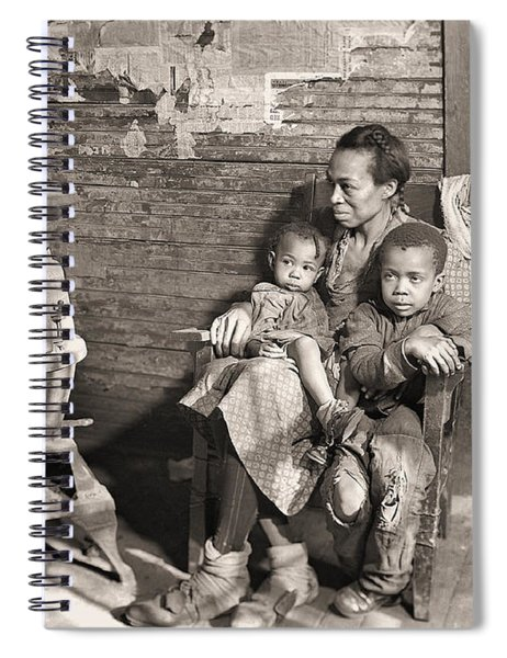 March 1937 Scott's Run, West Virginia Johnson Family. Spiral Notebook