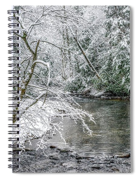 March Day Along Cranberry River Spiral Notebook