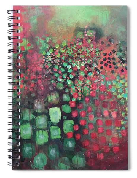 March Of The Flamingos Stairway To Heaven Spiral Notebook