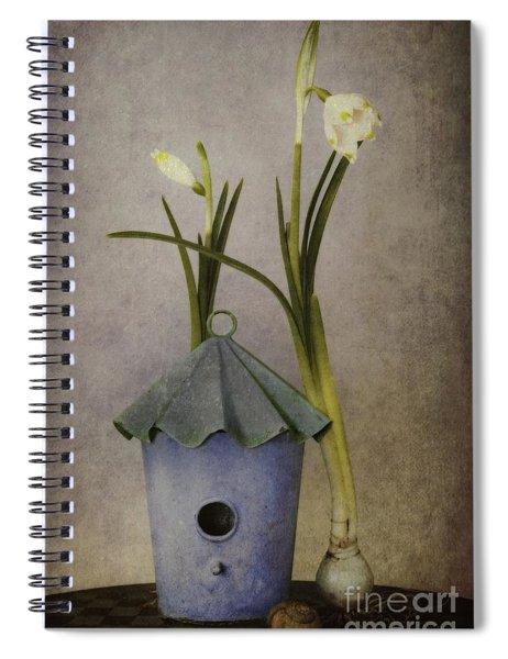 March Spiral Notebook by Priska Wettstein
