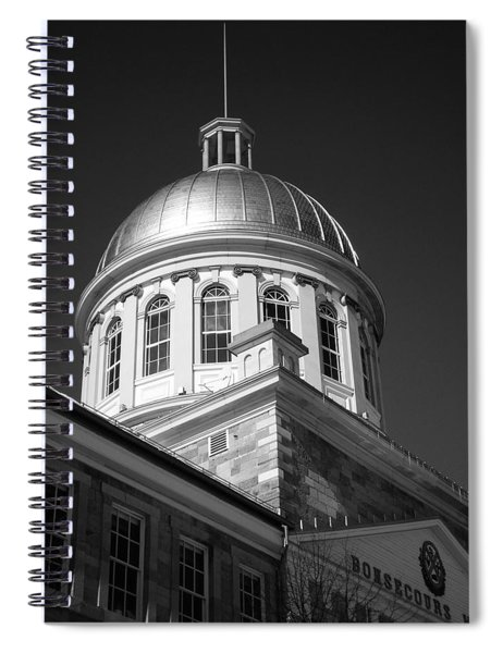 Marche Bonsecours  Spiral Notebook