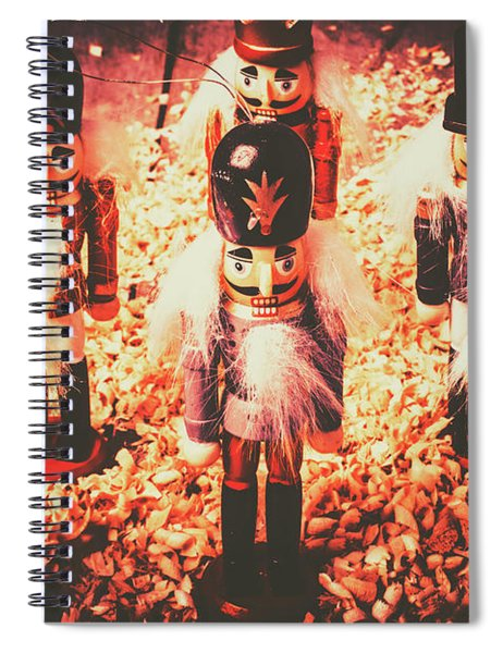 Marching In Tradition Spiral Notebook