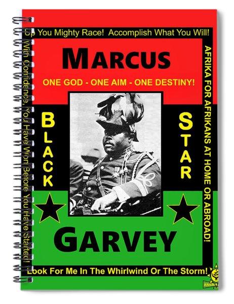 Marcus Garvey Spiral Notebook