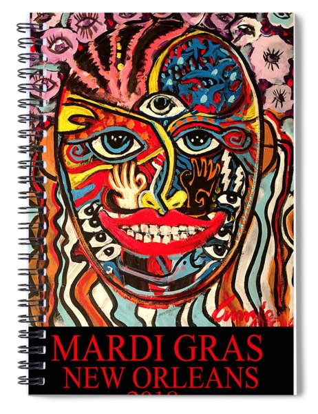 Mardi Gras 2018 Spiral Notebook