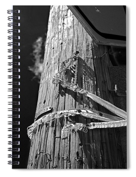 Mardi Gras Aftermath 1 Spiral Notebook