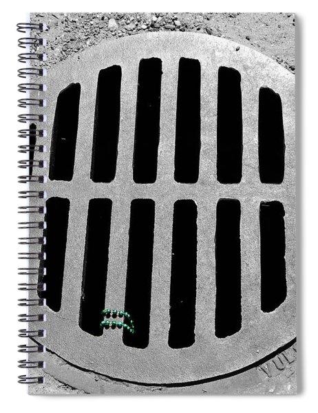 Mardi Gras Aftermath 2 Spiral Notebook