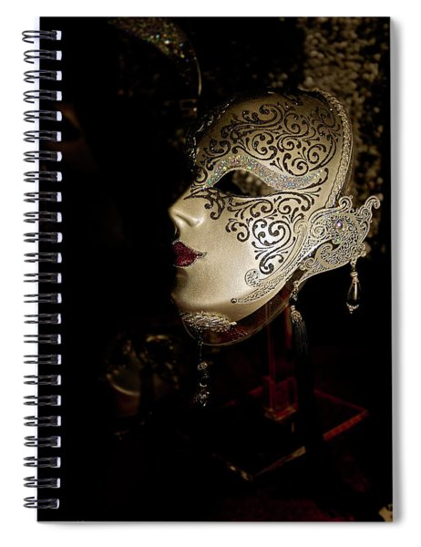Mardi Gras Mask Spiral Notebook