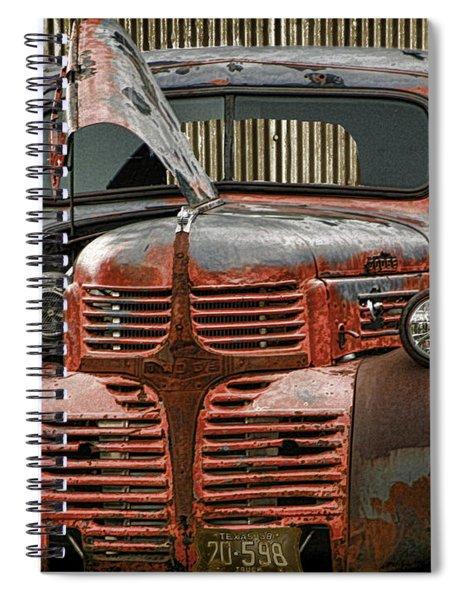 Marfaks Low Rider Spiral Notebook