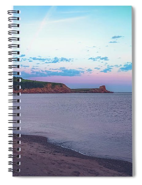 Margaree Harbour Sunrise Spiral Notebook