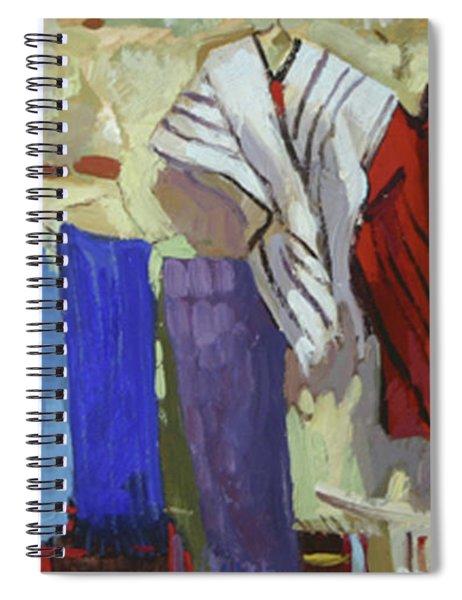 Maria Francesco's Weavings Spiral Notebook