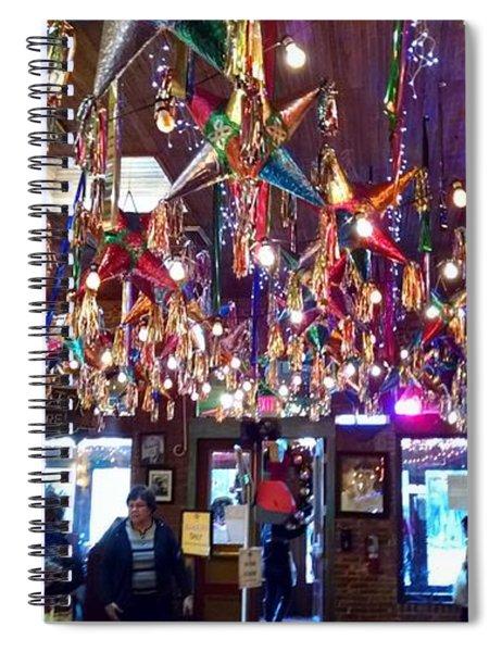 Mariachi Bar In San Antonio Spiral Notebook