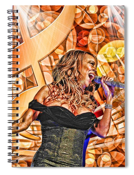 Mariah And Whitney-when You Believe Spiral Notebook