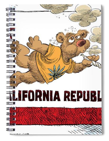 Marijuana Referendum In California Spiral Notebook