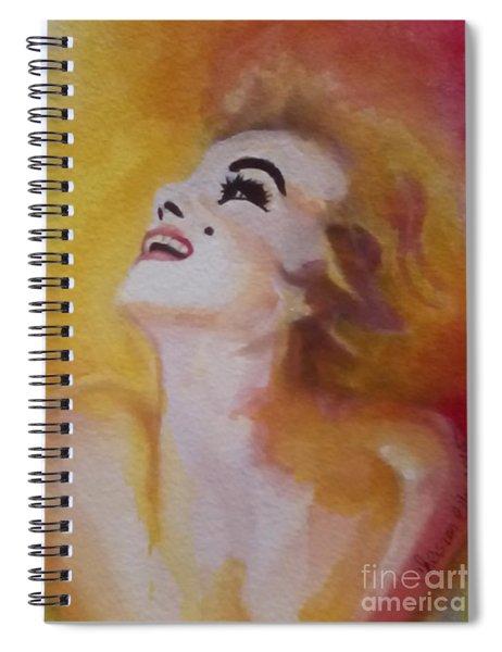 Marilyn Monroe 04 Spiral Notebook
